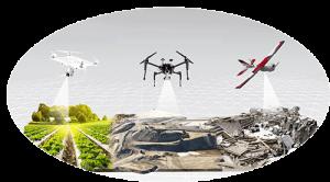 drone ile halihazır